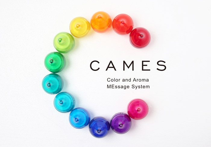 CAMES color and Aroma Personality MEssage System
